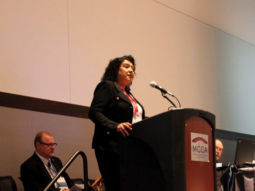 "Deanna Santana, city administrator, Oakland, CA, discusses ""how important it is for a community to come together during the immediate response [to a gun violence incidence] and its aftermath."""