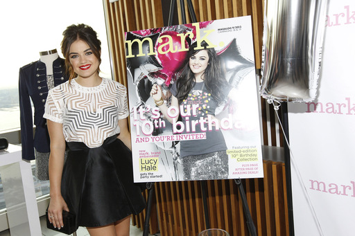 Brand Ambassador Lucy Hale Celebrates mark's 10th Birthday