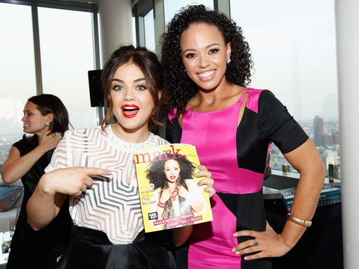Brand Ambassador Lucy Hale Celebrates mark's 10th Birthday with Elle Varner