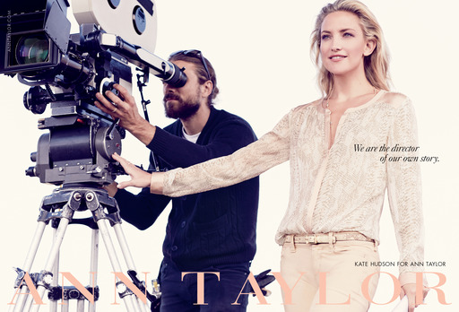Kate Hudson in Ann Taylor Spring 2014 Campaign