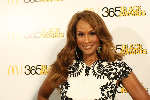 Supermodel Beverly Johnson walked the golden carpet before accepting the McDonald's® 365Black® Award for Arts and Entertainment at the 10th annual ceremony.