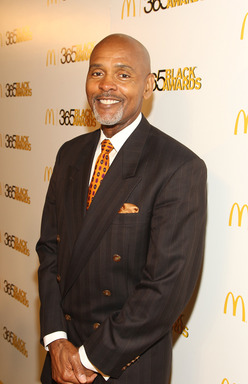 McDonald's Owner/Operator Roland Parrish walked the golden carpet before accepting the Business award during 10th annual McDonald's® 365Black® Awards.