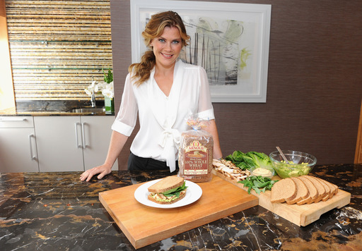 Alison Sweeney launches the Feed Your Better™ Campaign with Arnold®,Brownberry®,Oroweat® Breads to help inspire Americans to achieve their personal goals (Photo by Jamie McCarthy/Getty Images)