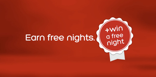 All Welcome Rewards members - established and new - are automatically entered to win daily drawings for a free hotel night ($200 value) through the end of 2013 as part of Hotels.com's new TV campaign.