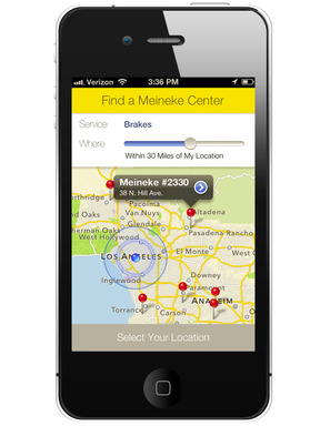 Meineke Simplifies Car Care with iTunes APP