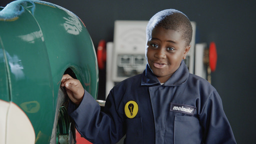 Meineke 'Kid Mechanic' Tire Rortation; SoulPancake's 'Kid President' Robby Novak