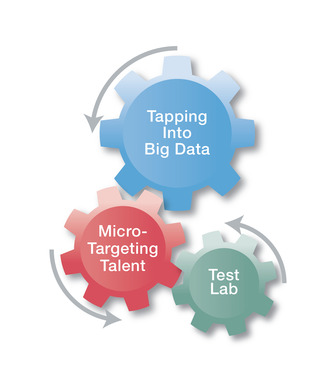 The best RPO provider should be able to: access big data and analyze it, micro-target talent thanks to its local expertise and act as a test lab for its client's recruiting functions