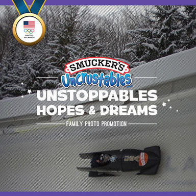 Enter the Uncrustables Unstoppables Hopes and Dreams Family Photo Promotion.