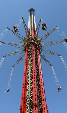 New England SkyScreamer: World's Tallest Swing Ride