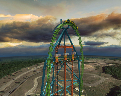 Zumanjaro: World's Tallest Drop Ride