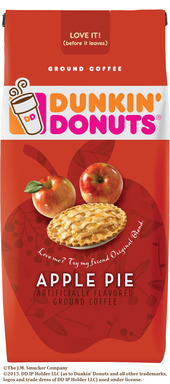 NEW Dunkin' Donuts®  Apple Pie Flavored Coffee
