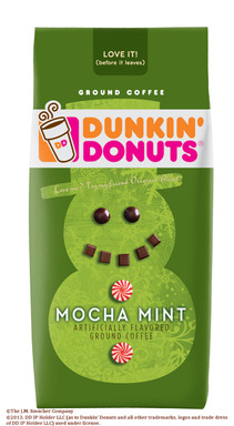 Dunkin' Donuts® Mocha Mint Flavored Coffee