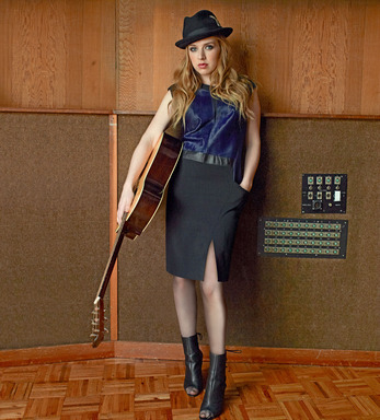ZZ Ward in Helmut Lang.
