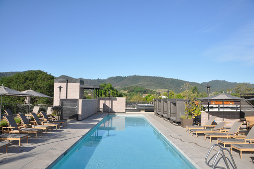 Among the top hotels for romance in the U.S. is the Bardessono in Yountville, CA, according to the 2014 TripAdvisor Travelers' Choice Awards for Hotels.