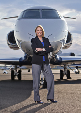 Flexjet President Deanna White announced an agreement for the company's purchase by a group led by Directional Aviation Capital and places largest jet order in its history valued at $5.2 billion.