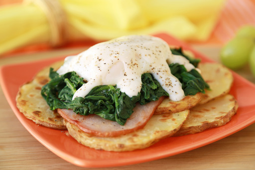 Potato 'n Eggs Bene-Chick