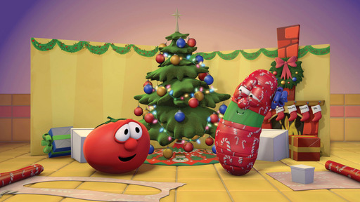 In the newest holiday release from VeggieTales®, fan-favorite veggies Bob & Larry teach viewers what the true meaning of Christmas is all about