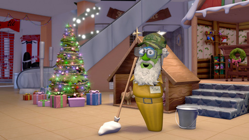 "VeggieTales® Announces NEW Holiday Release: Merry Larry and the True Light of Christmas, Featuring Si Robertson from Duck Commander as ""Silas"" the Okra"