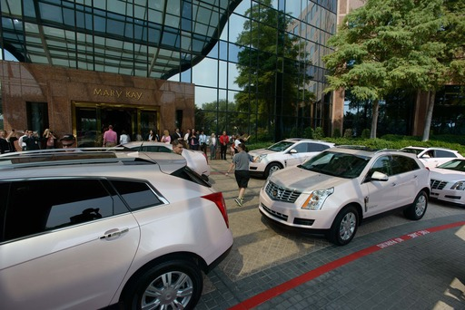 Mary Kay Inc. celebrates its 50th anniversary with the company's largest ever pink Cadillac event in Dallas on Friday, Sept. 13, 2013 – 50 years to the day after the iconic beauty company was founded.