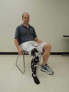 Rehabilitation Institute of Chicago revealed the world's first thought-controlled bionic leg in the New England Journal of Medicine, which focuses on research subject Zac Vawter, a lower-limb amputee.