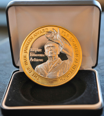 Dr. Paul Janssen Award Medallion