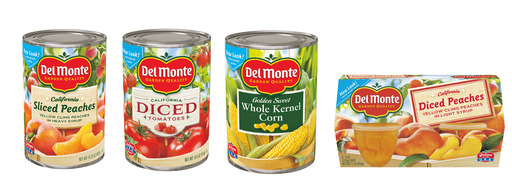 Del Monte Foods Updated Packaging