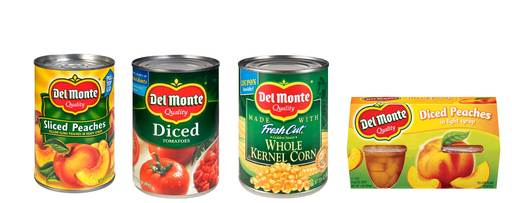 Del Monte Foods Previous Packaging