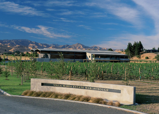 Villa Maria Estate's Marlborough Winery in New Zealand.