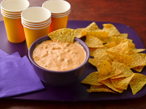 This dip makes enough to feed a football team (or a group of hungry fans!)