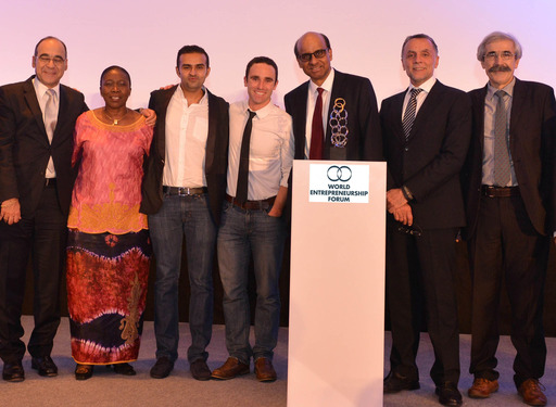 "The World Entrepreneurship Forum announces the winners of the 2013 ""Entrepreneur for the World"" Awards"