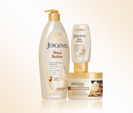 Jergens Shea Butter Collection Celebrates Women's Radiance