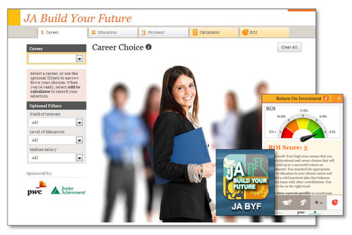A new, free app from Junior Achievement and PwC helps teens make informed career choices.