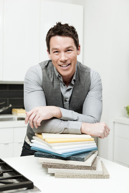Designer and TV personality David Bromstad is now the creative consultant for DuPont Corian®  and Zodiaq®.