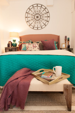 Nearly half (48%) of survey participants who'd like to improve their décor felt that the bedroom would benefit most from small changes, according to the HomeGoods Happy Home Resolutions survey released today.