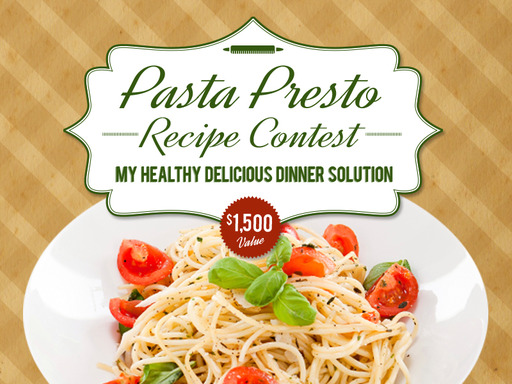 "Enter the ""Pasta Presto"" Recipe Contest in honor of National Pasta Month for a chance to win $1,500, visit www.pastafits.org for more details!"