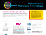 Basic Multimedia News Release