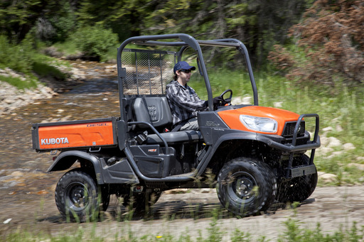 The RTV-X900 is equipped with a powerful 21.6 HP diesel engine, standard 4wd and standard hydraulic power steering for exceptional comfort and control.