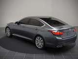ALL-NEW 2015 HYUNDAI GENESIS DEBUTS AT NORTH AMERICAN INTERNATIONAL AUTO SHOW WITH FLUIDIC SCULPTURE 2.0 DESIGN AND HTRAC® AWD CAPABILITY