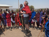 Massai Celebration Jump