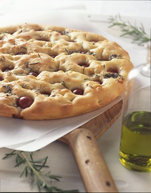 Grape Rosemary Focaccia