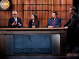 Geoffrey Zakarian, Alex Guarnaschelli, Marc Murphy and Ted Allen on Chopped Tournament of Stars