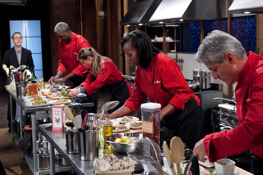 Sports Stars compete on Chopped Tournament of Stars