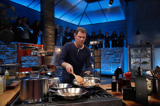 Bobby Flay competes on Beat Bobby Flay