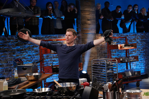 Bobby Flay on Food Network's Beat Bobby Flay