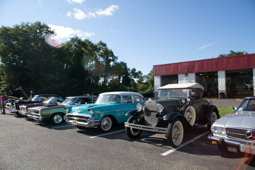 American Detours: Superstorm Sandy Wrap-Up Party was attended by over 150 Jersey Shore collector car enthusiasts.