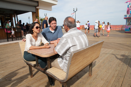 American Detours TV hosts sit down with the Mayor of Seaside Heights on the boardwalk and talk about Seaside's rebuilding efforts since Hurricane Sandy.