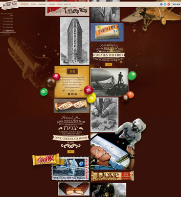 "The interactive ""History of Chocolate"" Timeline shares chocolate history facts and imagery dating back to 1500BCE all the way through to present day"