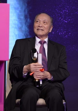 Leung Sik Wah, recipient of this year's Lifetime Achievement Award