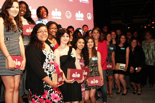 Dreams are closer to reality for Houston-area youth from Girls, Inc. of Greater Houston, Houston Area Urban League and LULAC National Educational Services Centers, Inc. - thanks to Aio Wireless.
