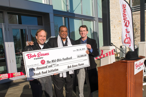 Bob Evans supports Mid-Ohio Foodbank's Fresh Food Initiative